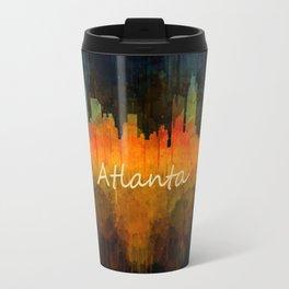 Atlanta City Skyline UHq v4 Travel Mug