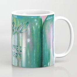 Ideal Mason Ball Jar Art Coffee Mug