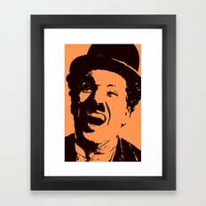 Charles Chaplin Framed Art Print