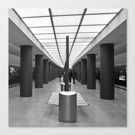 Tube Station Brandenburg Gate in Berlin Canvas Print