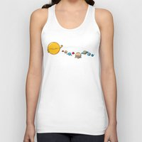 planets Tank Tops featuring Planets by awkwardyeti