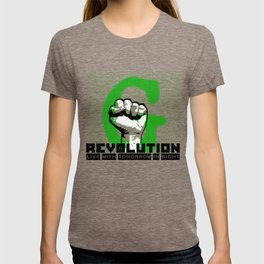 G (green) REVOLUTION T-shirt