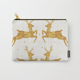 Golden Deers Carry-All Pouch