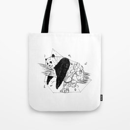 Geometric Season1:8 Panda Tote Bag