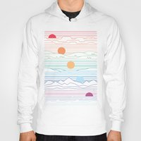 Hoodies featuring Many Lands Under One Sun by Rick Crane