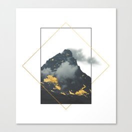 Mountain of Gold Canvas Print
