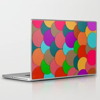 circles Laptop & iPad Skins featuring Circles.  by Eleaxart