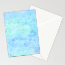 ocean water color Stationery Cards