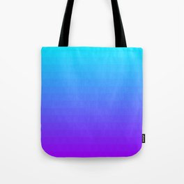 Blue and Purple Ombre Tote Bag