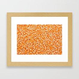 Popcorn maize Framed Art Print
