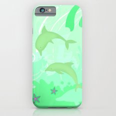 Dolphins Swimming Slim Case iPhone 6s