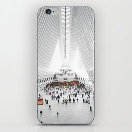 the oculus new york city iPhone Skin