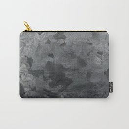 Grey texture Carry-All Pouch