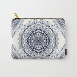 Supernova-In Navy, Dark Blue, & Grey Carry-All Pouch