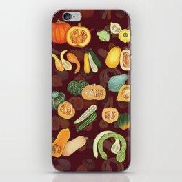 Everybody Loves Squash iPhone Skin
