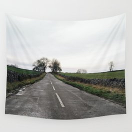 Winter british landscape Wall Tapestry