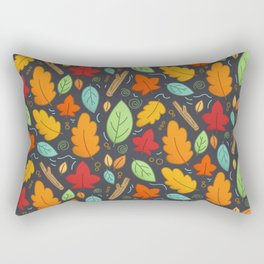 Happy Autumn pattern Rectangular Pillow