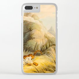 After Samuel Howitt and Captain Thomas Williamson - Oriental Field Sports - 1805-07 Bengal Tiger Clear iPhone Case