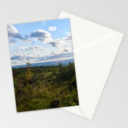 Late summer view Stationery Cards