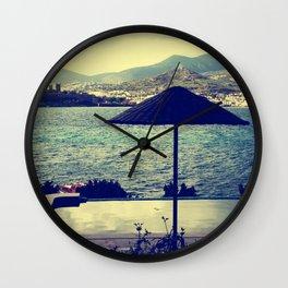 Bodrum Scenery Wall Clock