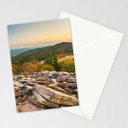 Spruce Knob Mountain Sunset Stationery Cards