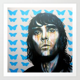 Ian Brown  Art Print