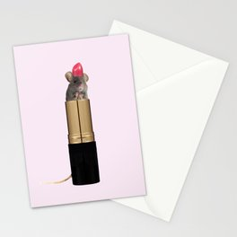 Tasty lipstick Stationery Cards