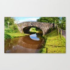 Bridge 162, Monmouthshire & Brecon Canal Canvas Print