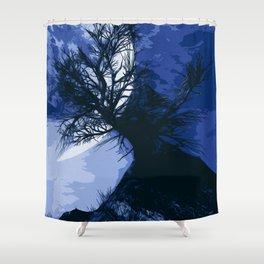 Creepy nights Shower Curtain
