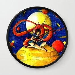 Dragon friend Wall Clock