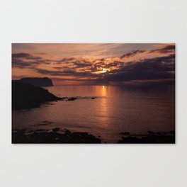 Another day is gone Canvas Print