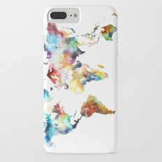 World map Slim Case iPhone 7 Plus