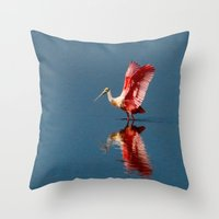 ballerina Throw Pillows featuring Ballerina by Lark Ascending