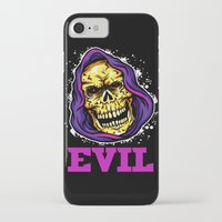 evil iPhone & iPod Cases featuring EVIL by DesecrateART (Infected)