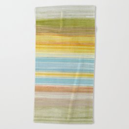 Colorbands Yellowstone Yellow Beach Towel