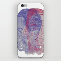 tupac iPhone & iPod Skins featuring You Got the Juice Now, Kid by Dazed N Amused