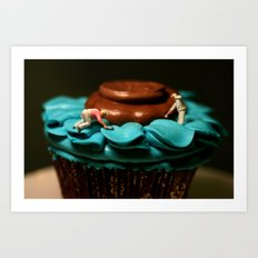 The Cake Decorators Art Print