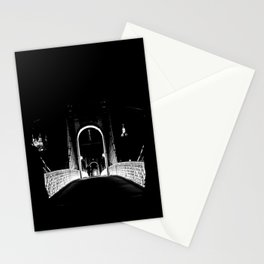 Lyon, Fourvière and the night Stationery Cards