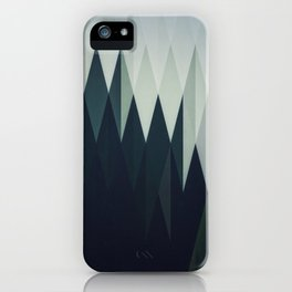 Diamond Forest iPhone Case