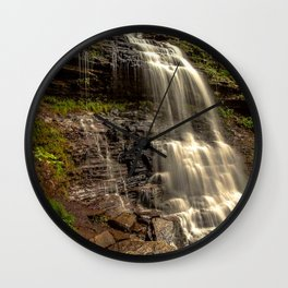 waterfall view Wall Clock