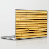 bamboo Laptop & iPad Skins featuring Bamboo by Patterns and Textures