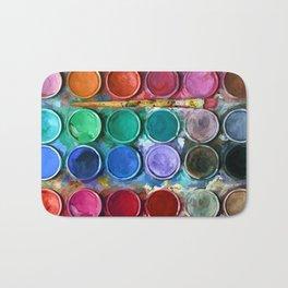 Pallet Abstract Art Bath Mat