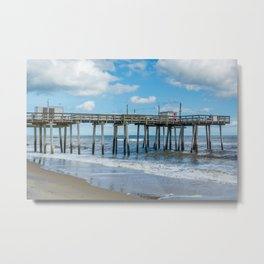The Fishing Pier No. 2 Metal Print
