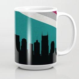 Nashville Skyline Coffee Mug