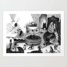 Tondal's Vision Art Print