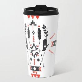 Norwegian Folk Graphic Travel Mug