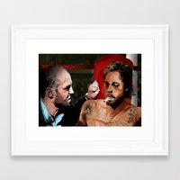 snatch Framed Art Prints featuring Snatch by The Art Warriors