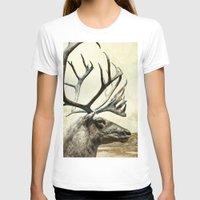 reindeer T-shirts featuring Reindeer by ZenaZero