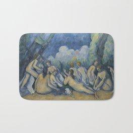 Paul Cézanne - Bathers (Les Grandes Baigneuses) Bath Mat