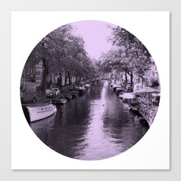 Amsterdam Canal #2 Canvas Print